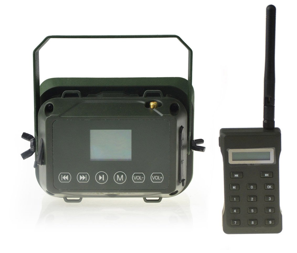 Outdoor Hunting MP3 Player Bird Decoy Caller 60W 160dB Loud Speaker Waterproof + 500M Remote by Up Force (Image #3)