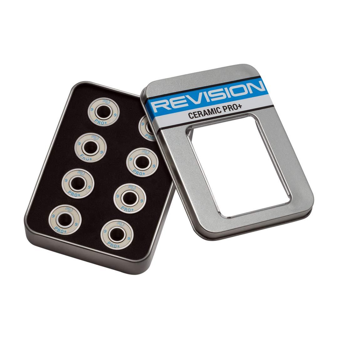 Revision Roller Hockey Bearings Ceramic ABEC 9 Pro 16-Pack for Inline Skates