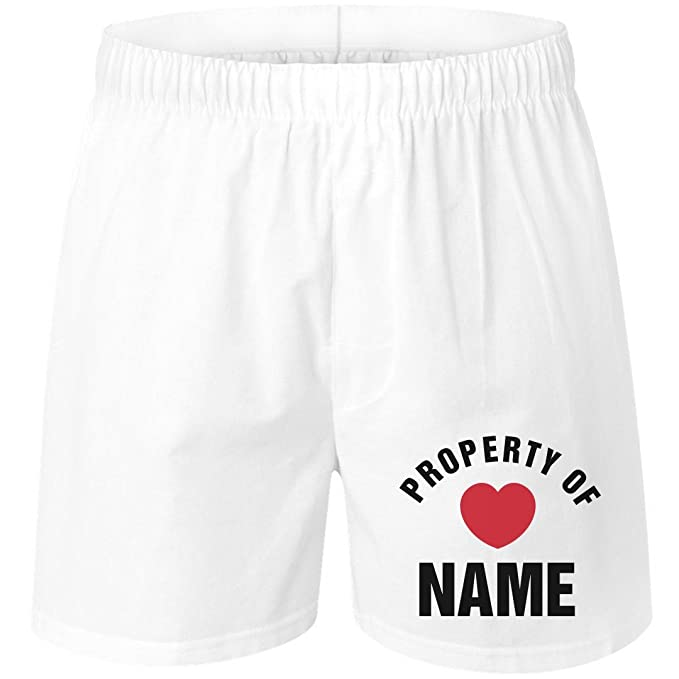 04132d9aa58c8 Custom Property of Valentines Gift  Unisex Boxer Shorts at Amazon Men s  Clothing store