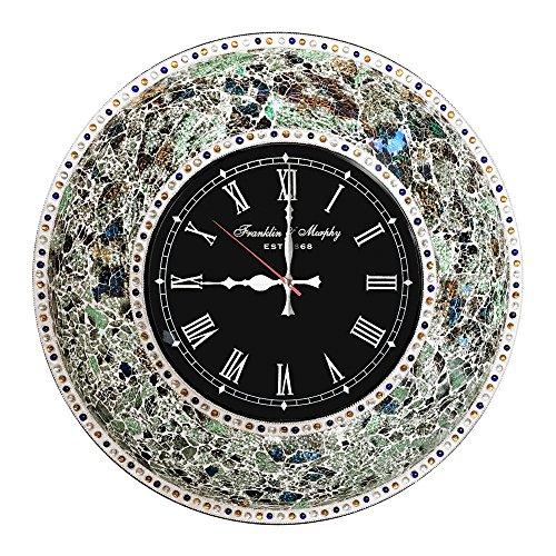 Retro Mod Metal Wall Clock (DecorShore 22.5