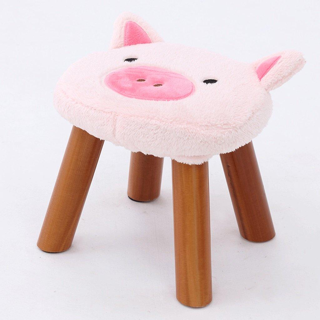 子供用ギフトグレーブルー、ライトグレー、ダークグレー、ピンク、ブラウン(L32cm * W29cm)、椅子、子供用ギフト、 * H28cm) ( Color : Pink ) B07BXDZBMR Pink Pink