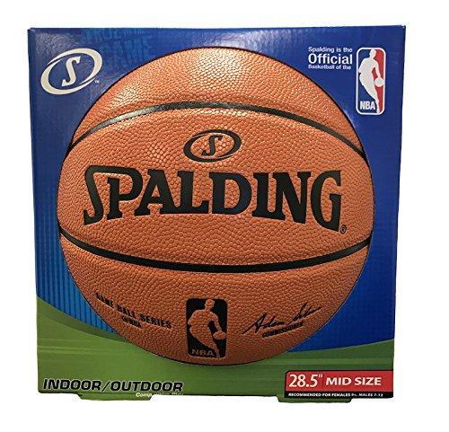 bfc2a540b2c Amazon.com   Spalding NBA Replica Composite Indoor Outdoor Basketball - Intermediate  Size 6 (28.5