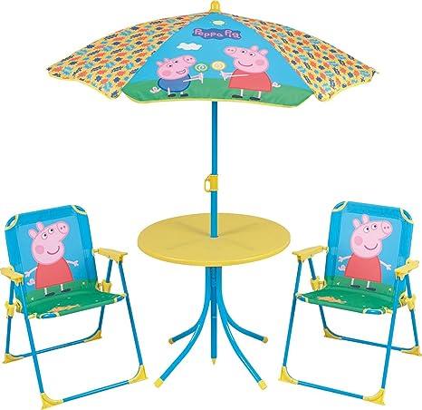 FUN HOUSE 712263 - Juego de Mesa y sillas de jardín para ...