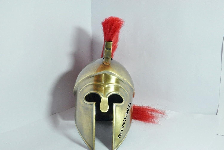 Medieval Hollywood Costume Armor Roman Greek Corinthian Helmet