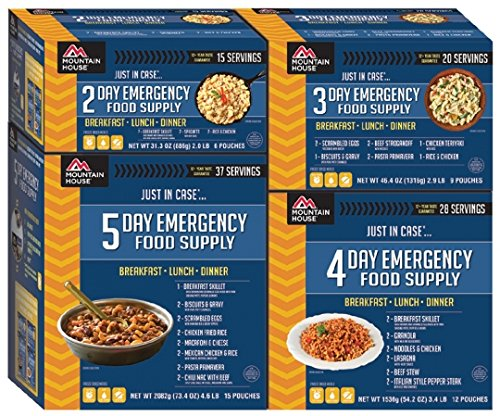 Mountain House MH 14 Day Emergency Food Supply, 100 total servings, Freeze Dried Meals just add water, 25 year Shelf Life with bundled with Extended Outdoors Equipment Satisfaction Guarantee by Mountain House (Image #3)
