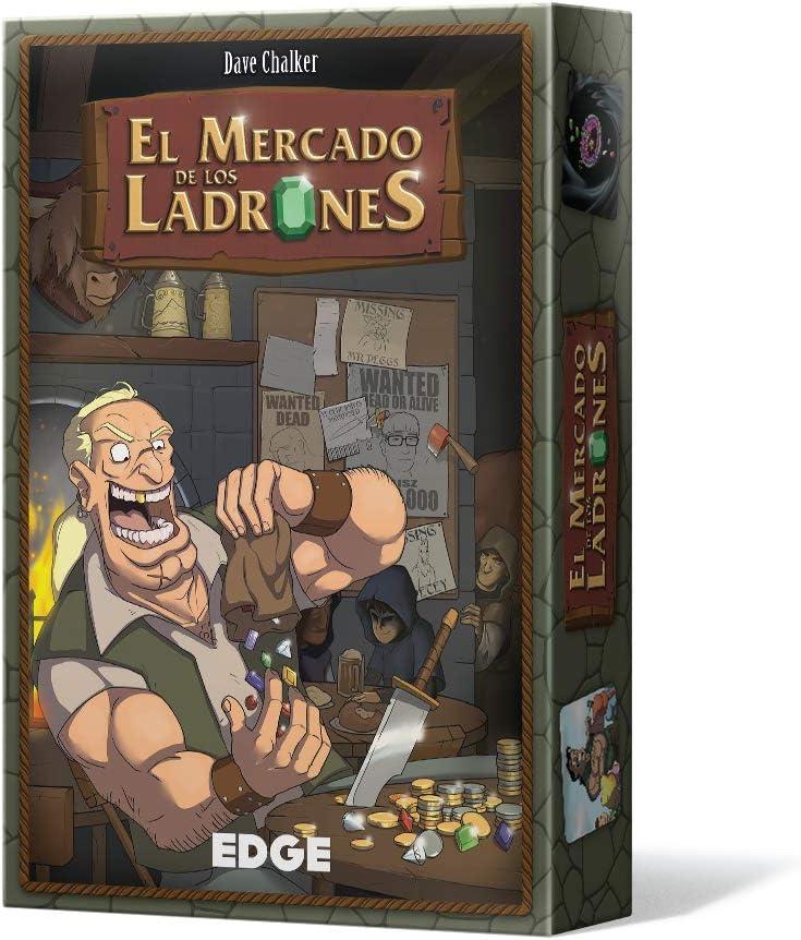Asmodee - El Mercado de los Ladrones (Edge Entertainment EDGTM01): Amazon.es: Juguetes y juegos