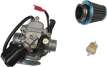CARBURETOR W// FILTER TrailMaster 150 XRS /& TrailMaster 150 XRX Go-Karts