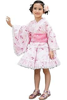 d390f6549e91e  ALICE MAGIC  浴衣 こども 女の子 (帯 セット) 浴衣ドレス 子供服 セパレート