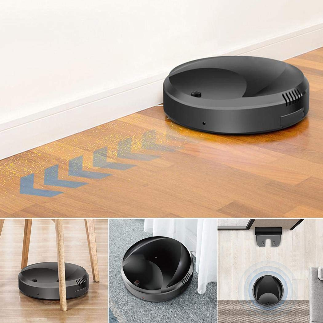 fanddy Home Indoor Smart Automatic Change Direction Dust Hair Remove Sweeping Robot Robotic Vacuums by fanddy