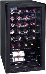 Polar Wine Cooler Fridge 28 Bottles CE203-A 430(W) mm. Capacity: 26x 750ml Bott