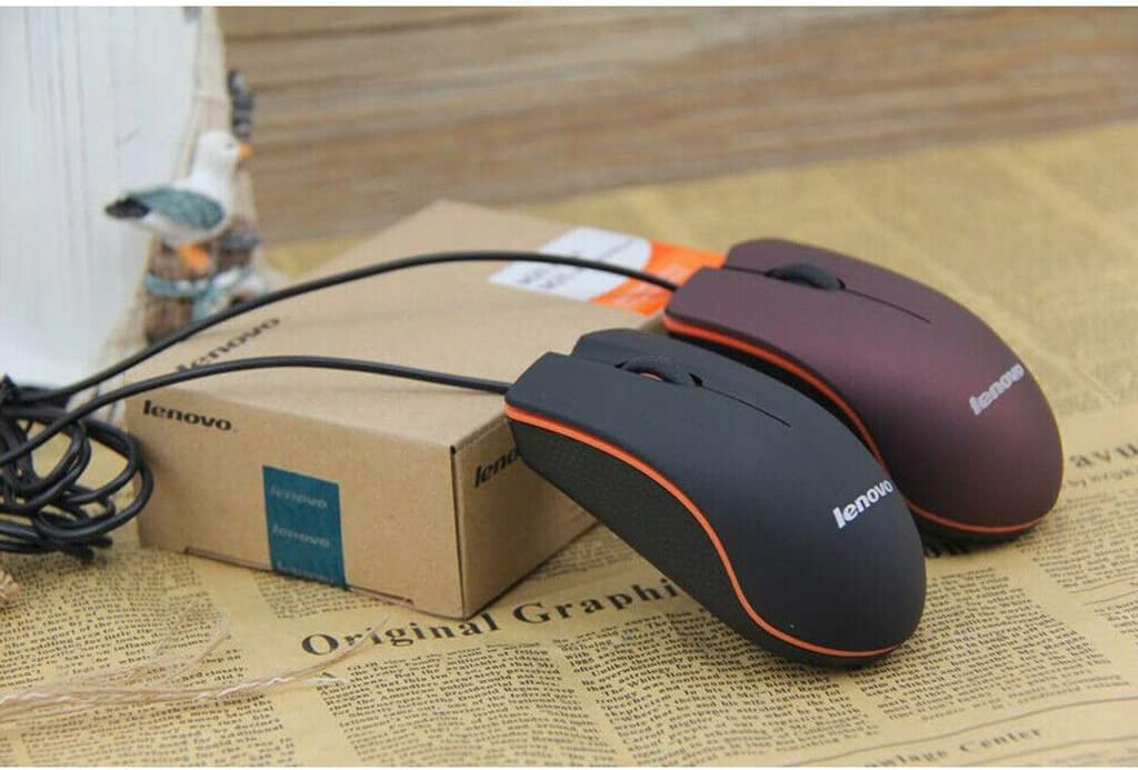 CUCUDAI 130CM 1200DPI USB Wired Game Mouse Portable Frosted Surface Optical Gaming Mice for Office PC Laptop Computer Accessories