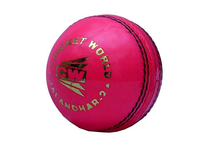CW juego de 4 Liga especial rosa piel pelota de críquet ...