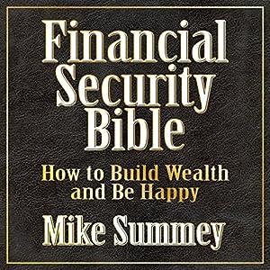 The Financial Security Bible Speech