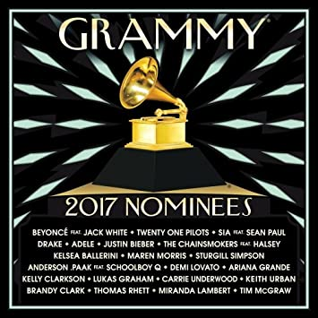Image result for 2017 grammy nominees vinyl art