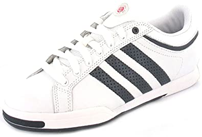 new style 15547 3aa9c MensGents White Adidas Leather Old School Style Tennis ShoesTrainers -  White