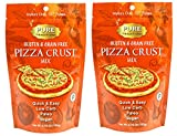 Paleo Pizza Crust Mix (Grain-free, Gluten-free), Fast & Easy, 2 Packs