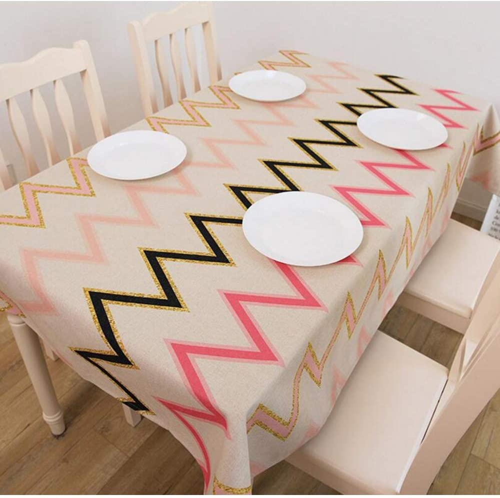 Tablecloths Home Decoration Home Fresh Tablecloth Creative Dustproof Decorative Tablecloth (Color : 04, Size : 110170cm)