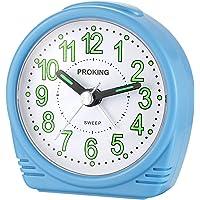 Yadelai Viaje Despertador Analógico,Reloj de Alarma para Niños