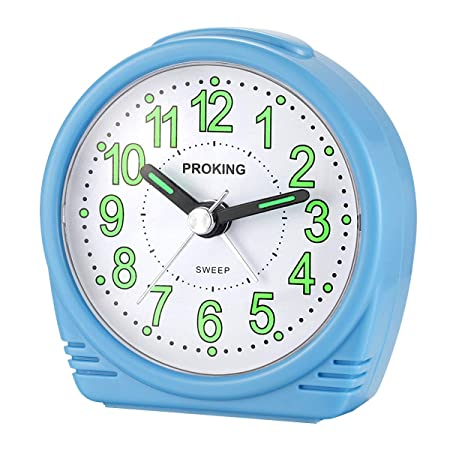 Yadelai Viaje Despertador Analógico,Reloj de Alarma para Niños ...
