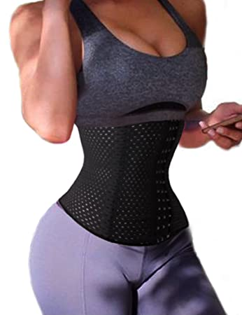 3c1f88cefa4 Amazon.com  Lelinta Waist Trainer Corset for Weight Loss Sport Body ...