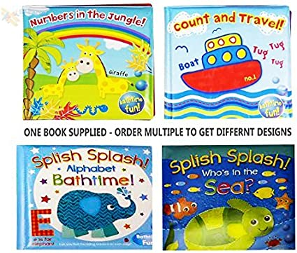 Baby Bath Book Kids Soft  Play Toy Toddler Learning Educational Waterproof Fun