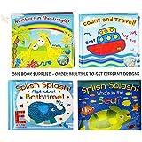 Livres de Bain pour Bébé Plastique überzogen Plaisir Université d'Éducation Learning Jouets pour Bébé & Enfants