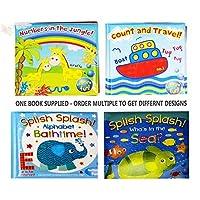 Baby Bath Books Plastic Coated Fun Educational Learning giocattoli per bambini e ragazzi