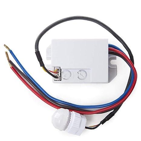 Greenice | Sensor Movimiento Empotrar Mini 140º 300W