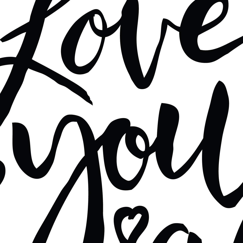 Format A3 ENCADRES Nacnic Imprimer avec Heureux Messages Vierges et Negro.Poster All You Need is Love pour Le Cadrage