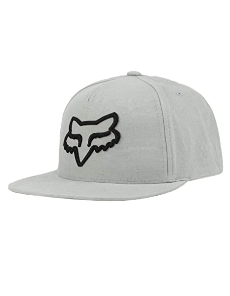 Fox Gorras Instill Steel Grey/Black Snapback: Amazon.es: Ropa y accesorios