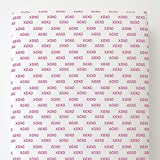 Carousel Designs Fuchsia Hugs and Kisses Toddler Bed Sheet Fitted