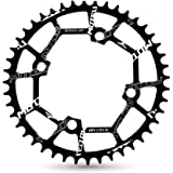 VXM 104BCD Chainring 40T 42T 44T 46T 48T 50T 52T【2019 CNC 7075-T6 Aluminum】 Narrow Wide Chain Ring for Road Bike…