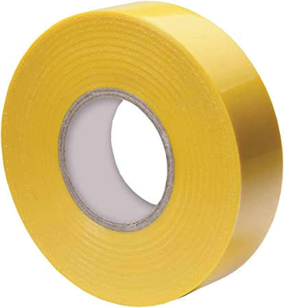 "1 Roll Yellow Vinyl PVC Electrical Tape 2/"" x 66/' Flame Retardant Free Shipping"