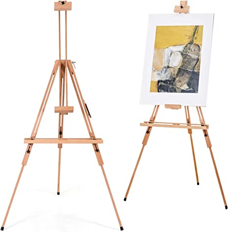 Artist Wooden Tripod Easel Drawing Art Stand Adjustable Dispaly Painting Sketch