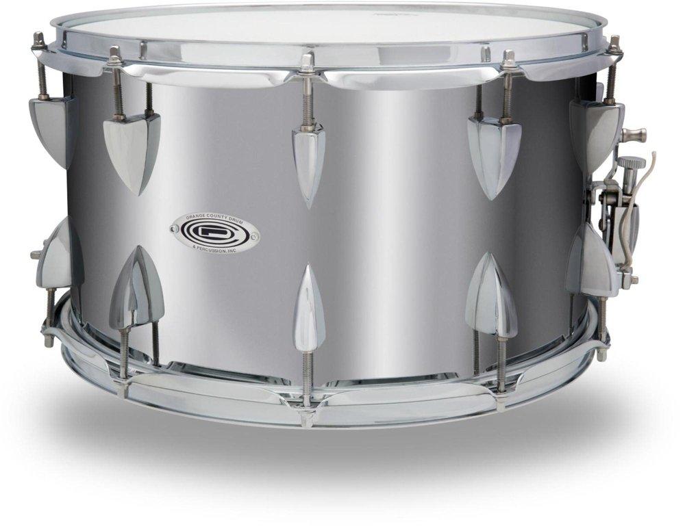 Orange County Drum & Percussion Steel Snare Drum in Chrome Finish 14 x 8 in. by Orange County Drum & Percussion (Image #2)