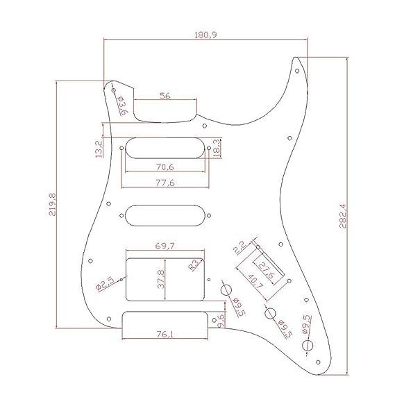 Amazon Com Kmise A7792 Acoustic Guitar Pickguard Musical Instruments