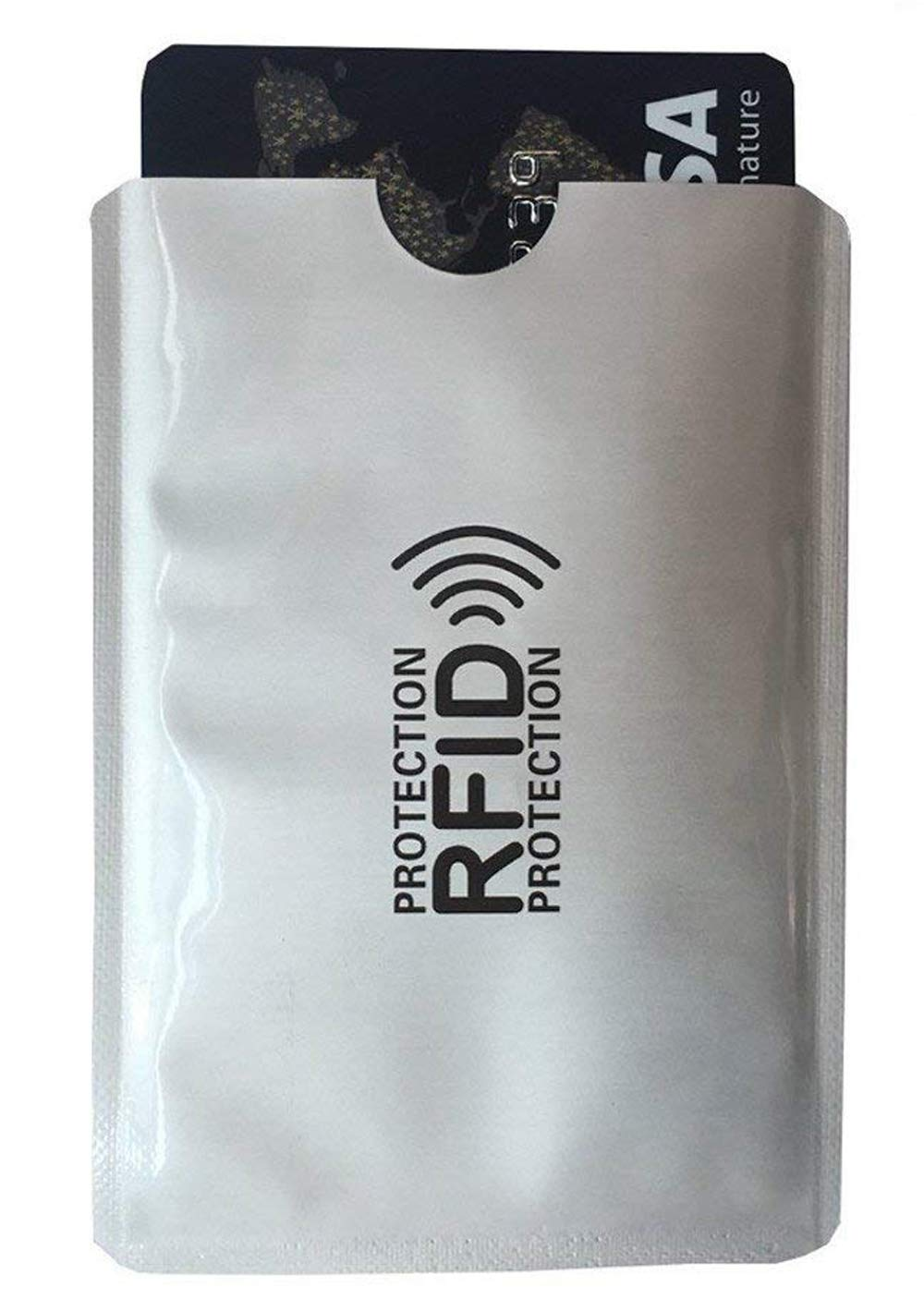 porta carte protezione rfid NFC RFID Proteggi per Carte di Credito e Passaporto 10 Pezzi Protezione RFID