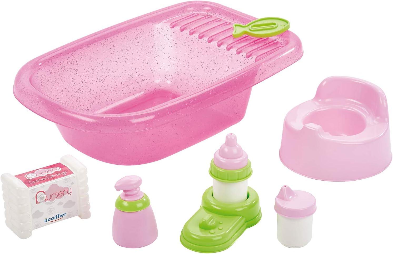Écoiffier-4550788 Set de bañera completa, Multicolor (SIMBA TOYS 788) , color/modelo surtido
