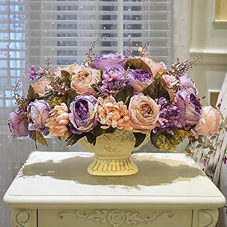 Zhudj Rose Emulation Flower Kit Australian Roses Flowers Silk