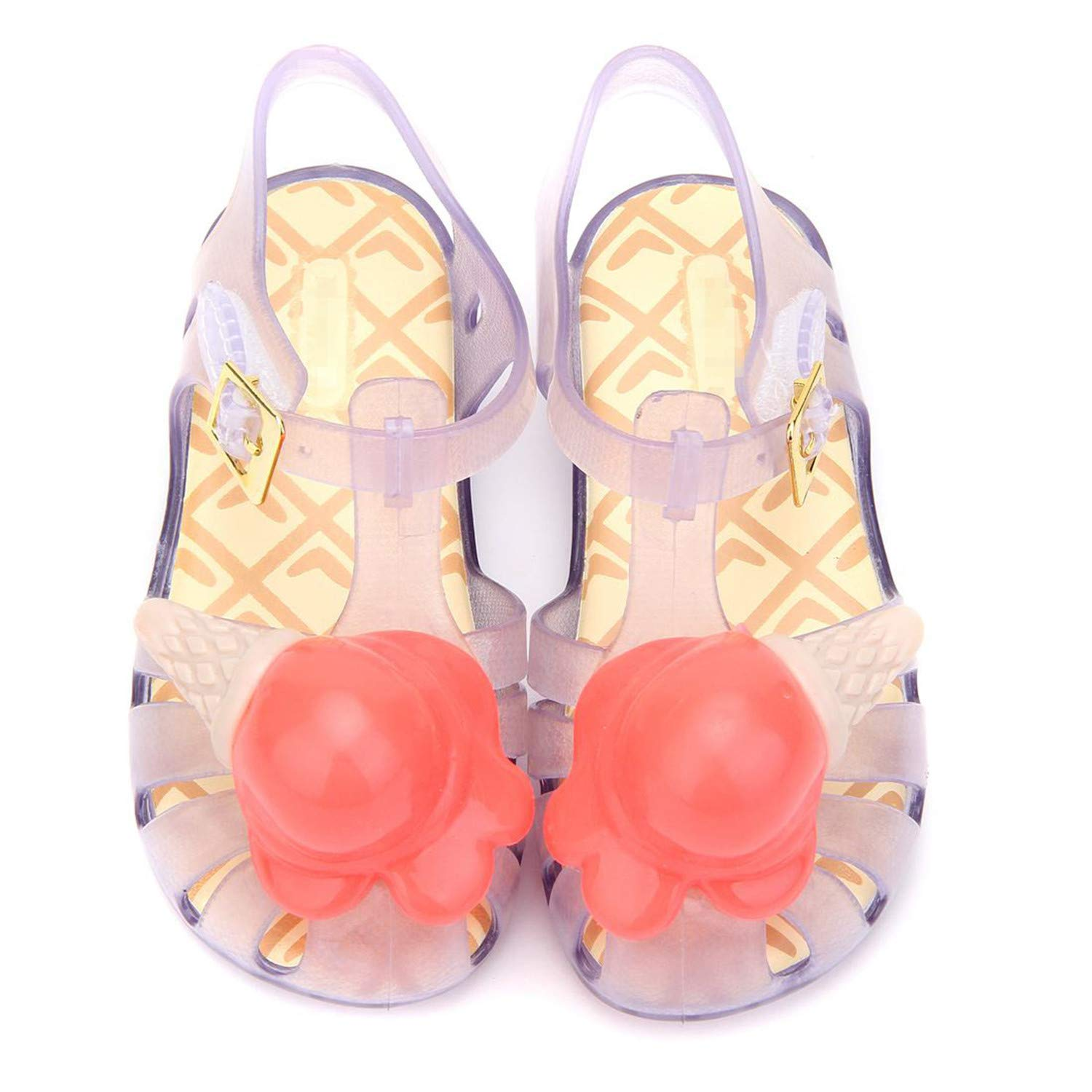 Conch Beach Sandals Mini Kids Flat New Summer Style Girls Sandals Baby Shoes Jelly Shoe