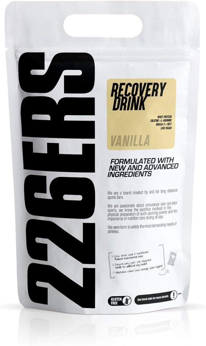 226ERS Recovery Drink, Recuperador Muscular con Proteína ...