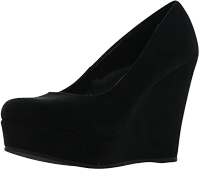 6a4ab5ecf Amazon.com | SODA Women's Beer Platform Wedge Shoes | Platforms & Wedges