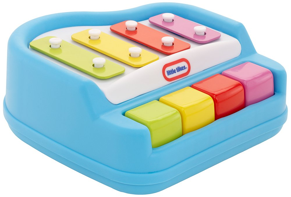 amazon com little tikes tap a tune piano toys games