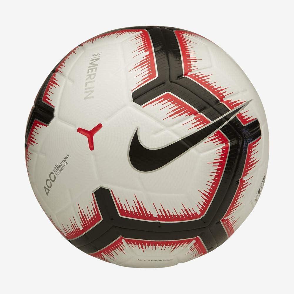 Desconocido Nike NK Merlin Balón de fútbol, Adultos Unisex, White ...