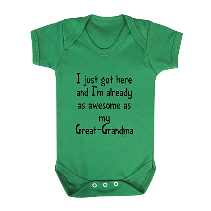Amazon Com Got Already As Awesome As Great Grandma Baby Bodysuit