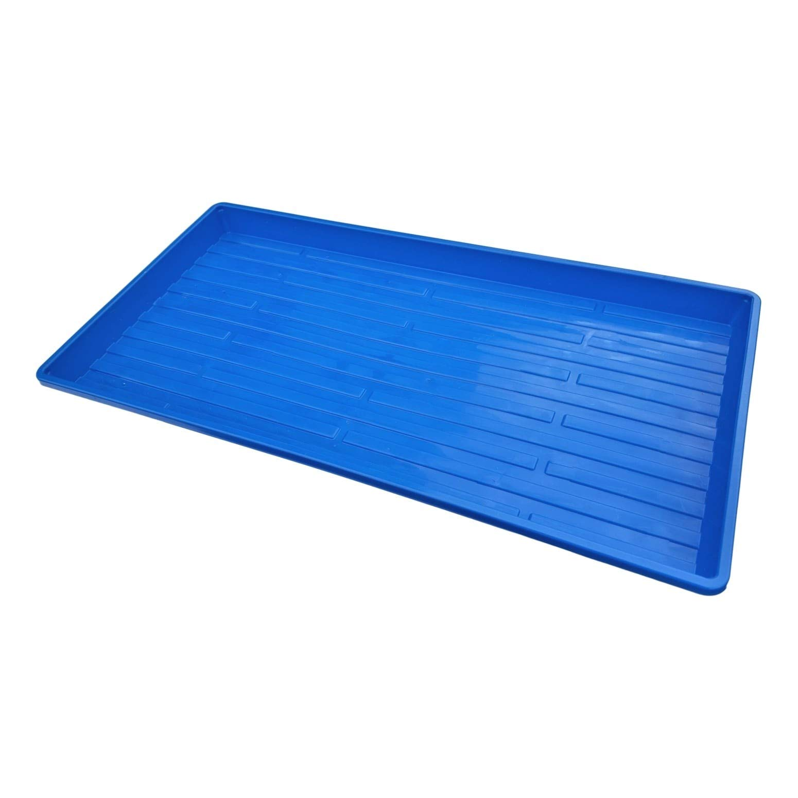Microgreen Trays, Blue 10 Pack, No Holes by Bootstrap Farmer