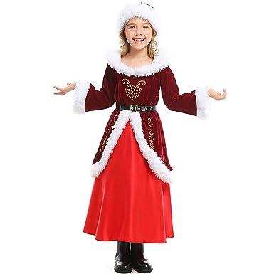 JUNMAONO Traje Navidad Santa Claus para Niños Ropa de Navidad Ropa ...