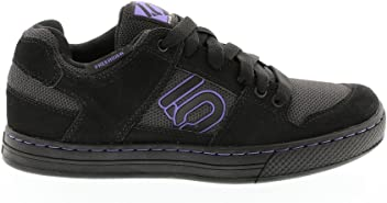 Five Ten Freerider Womens Flat Pedal Shoe: Black/Purple 8