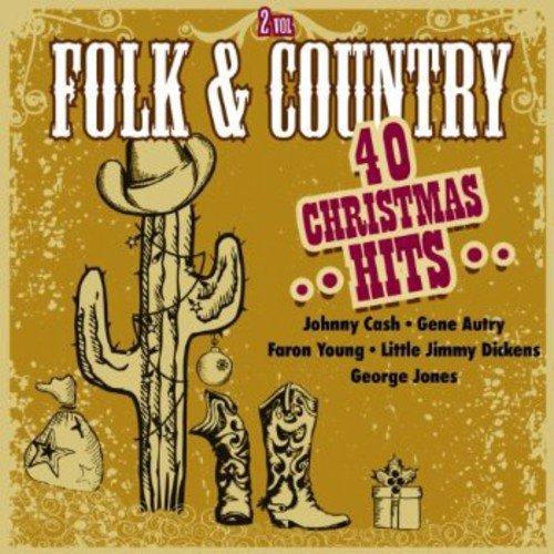 Folk & Country: 40 Christmas Hits, Vol. 2