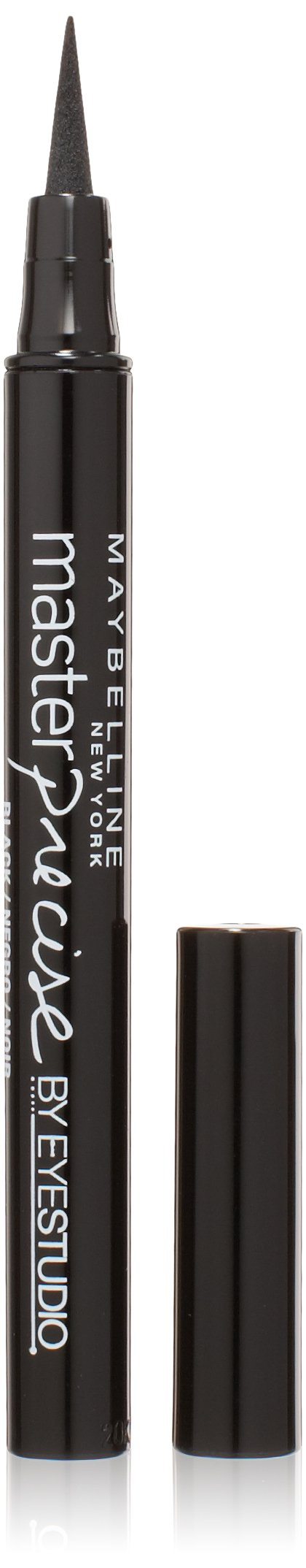 Maybelline New York Eye Studio Master Precise Liquid Eyeliner, Black, 0.037 fl. Oz.